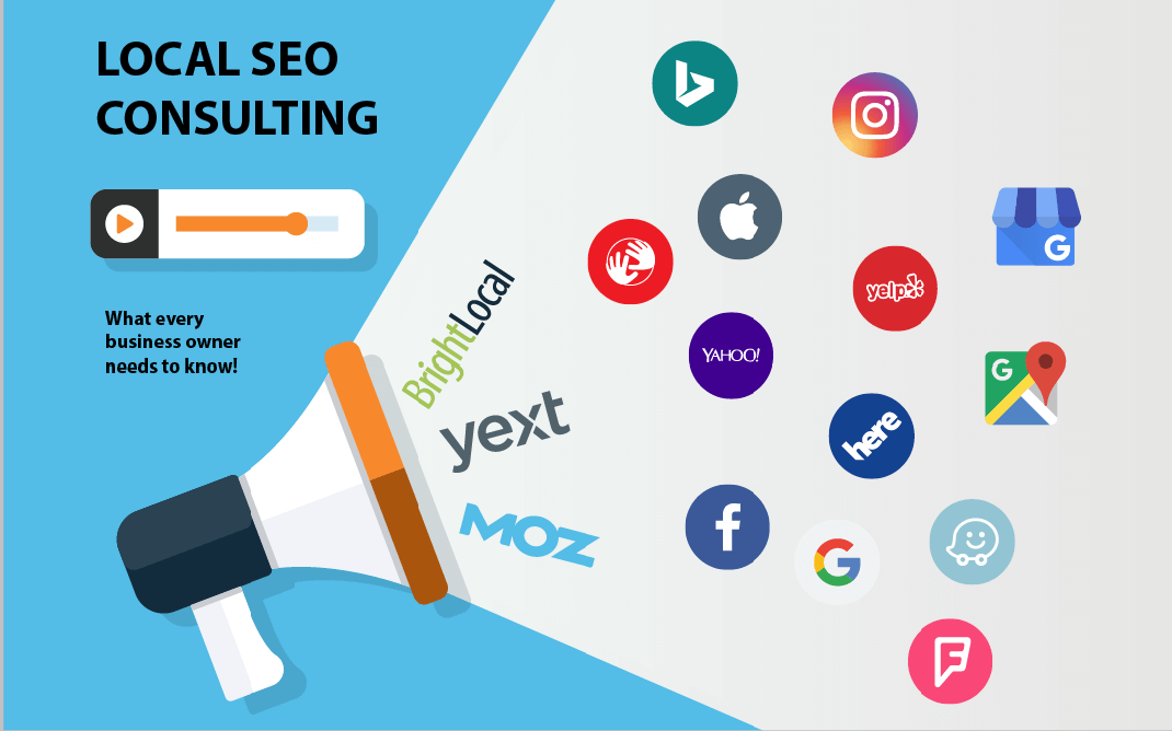 What are the local SEO consulting for small businesses?