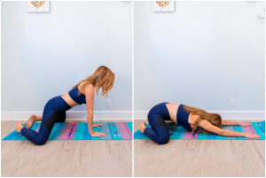 Hip opening stretch
