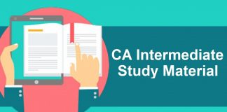Best institute for CA Intermediate Law Study Material