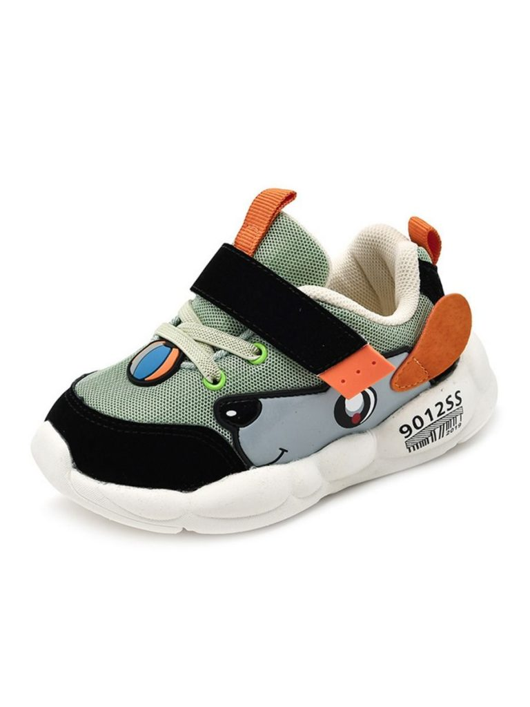 kiskissing wholesale baby kid cartoon sport shoes