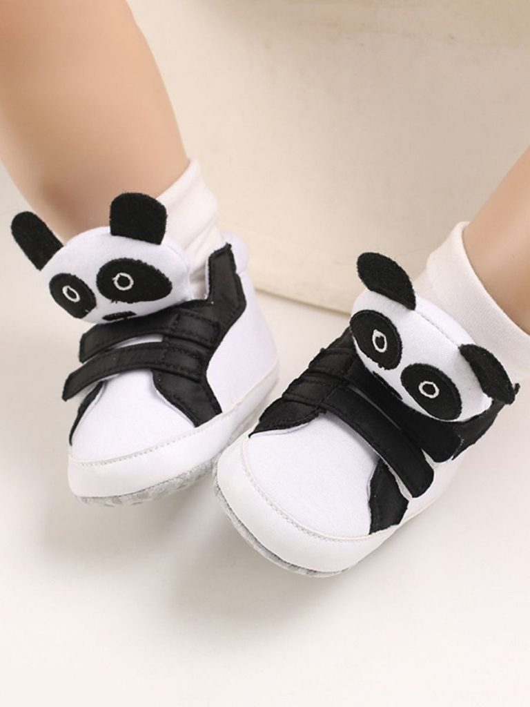 kiskissing wholesale kid cartoon animal style canvas shoes