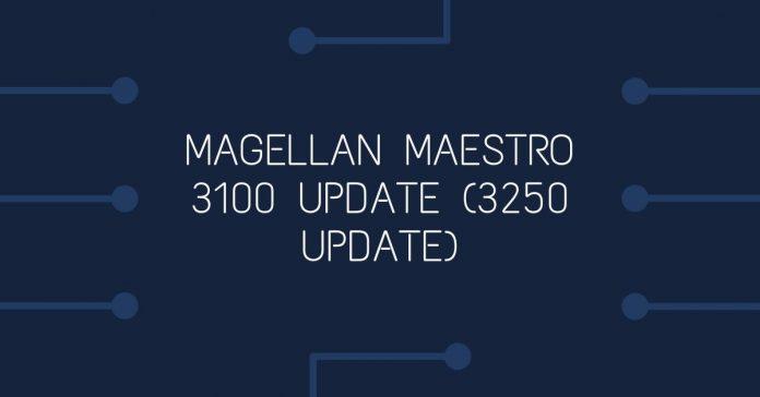 Magellan Maestro 3100