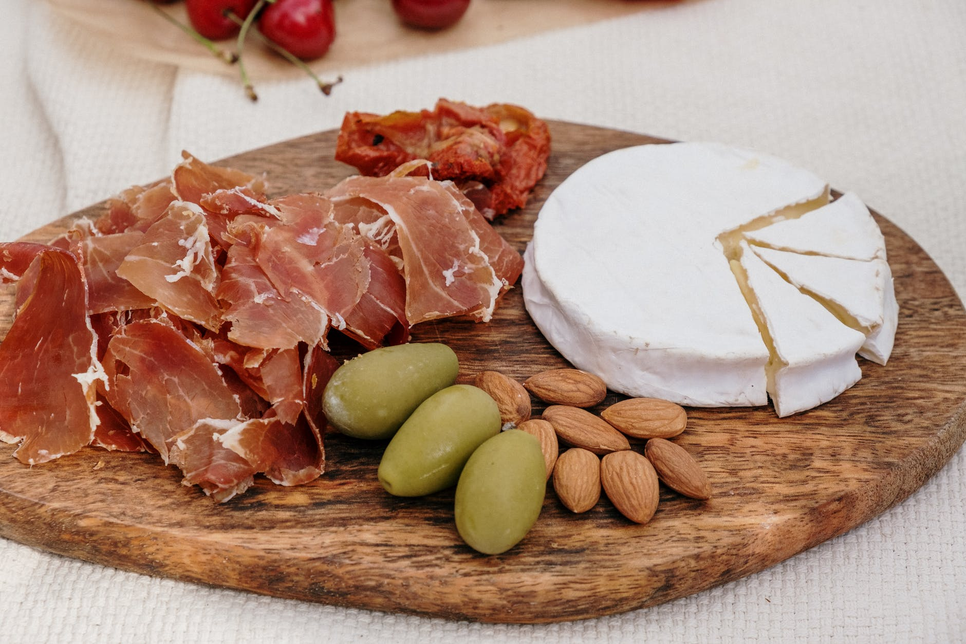 meat and cheese charcuterie
