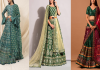 Green Lehengas for Theme Weddings Jaipur Lehenga Shop