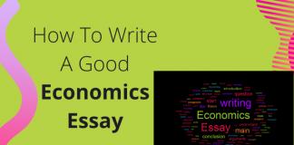How To Write A Good Economics Essay