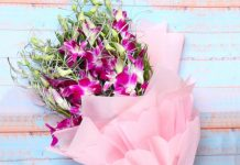 flower bouquet for valentine day