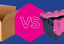cardboard boxes vs plastic boxes