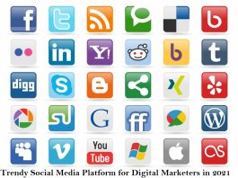 10 Trendy social media platform for digital marketers in 2021