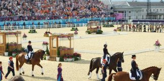 50+ Equestrian Athletes at the 2012 Olympics