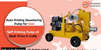 Auto Priming Dewatering Pump Supplier