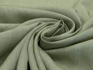 Buy Green Plain Ramie Linen Fabric online