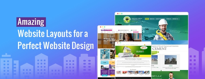 Amazing Website Layouts for a Perfect Website Design