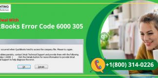 QuickBooks Error 6000 305