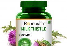 milk thistle capsules for liver