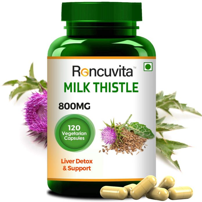 milk thistle capsules for liver