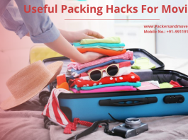 Useful Packing Hacks For Moving