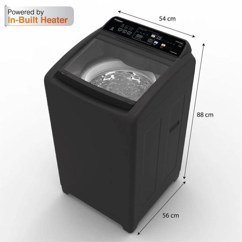 Stylish - Buy Whirlpool White Magic Elite Plus 6.5KG Fully Automatic Top Loading Washing Machine (Grey) Online with washing machine price