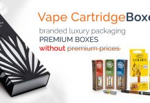 vape cartridge boxes