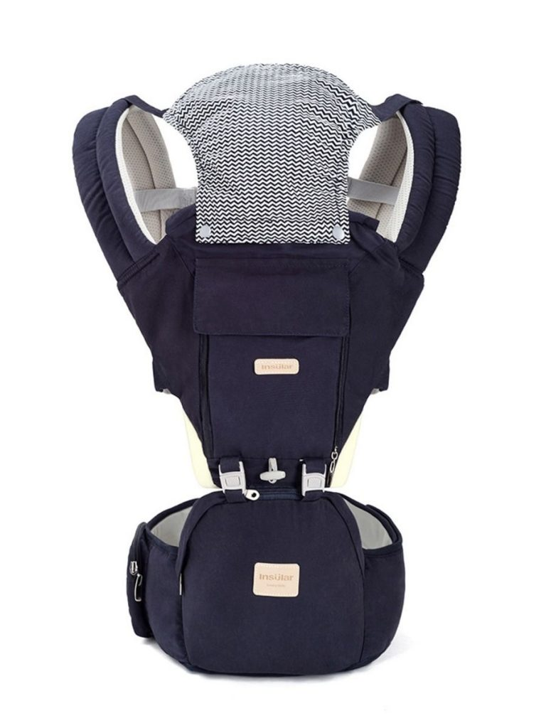 BREATHABLE BABY CARRIER WITH WAIST STOOL