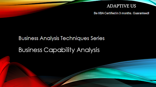 Business Capability Analysis