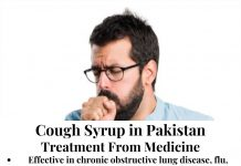 Cough Syrup in Pakistan
