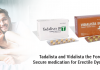 Tadalista and Vidalista the foremost secure medication for erectile Dysfunction