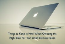 Things to Keep in Mind When Choosing the Right SEO For Your Small Business Needs
