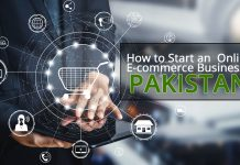start eCommerce in Pakistan