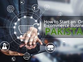 start eCommerce in Pakistan