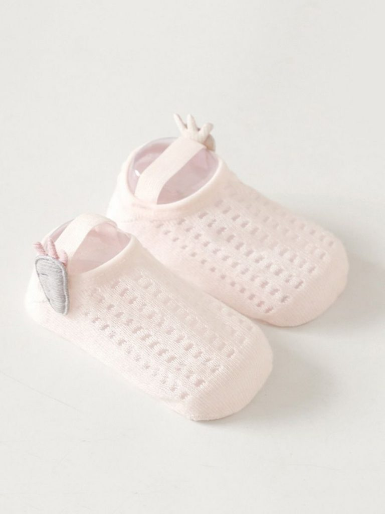 BABY KID GIRL HOLLOW OUT PLAIN SOCKS SHOES