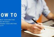 Writing Speed