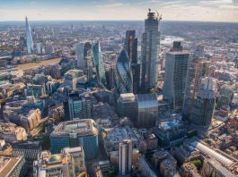 london top view