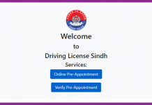 Driving Licence in Sindh