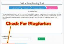 Choose the best paraphrasing tool Service
