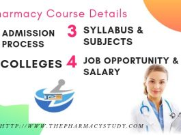 B Pharmacy Course Admission Process, Eligibility Criteria, Colleges, Syllabus, Jobs and Salary