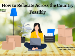 How to Relocate Across the Country Feasibly
