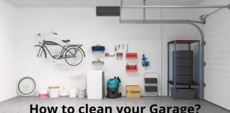 How to clean your Garage