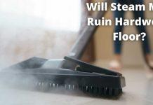 Will steam mop ruin hardwood floor